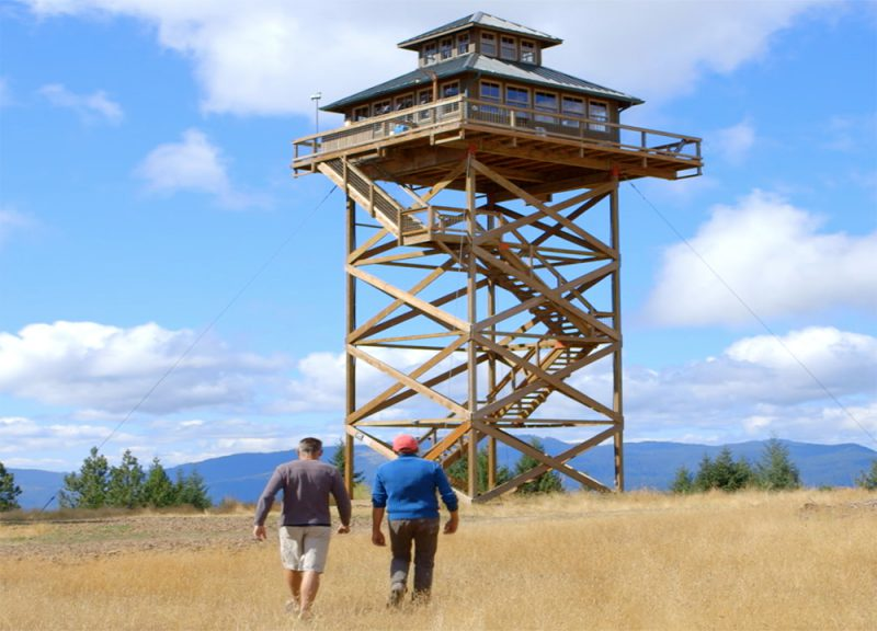 Zillow Fire Lookout House
